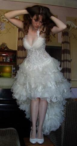 Свадебные платья как кан